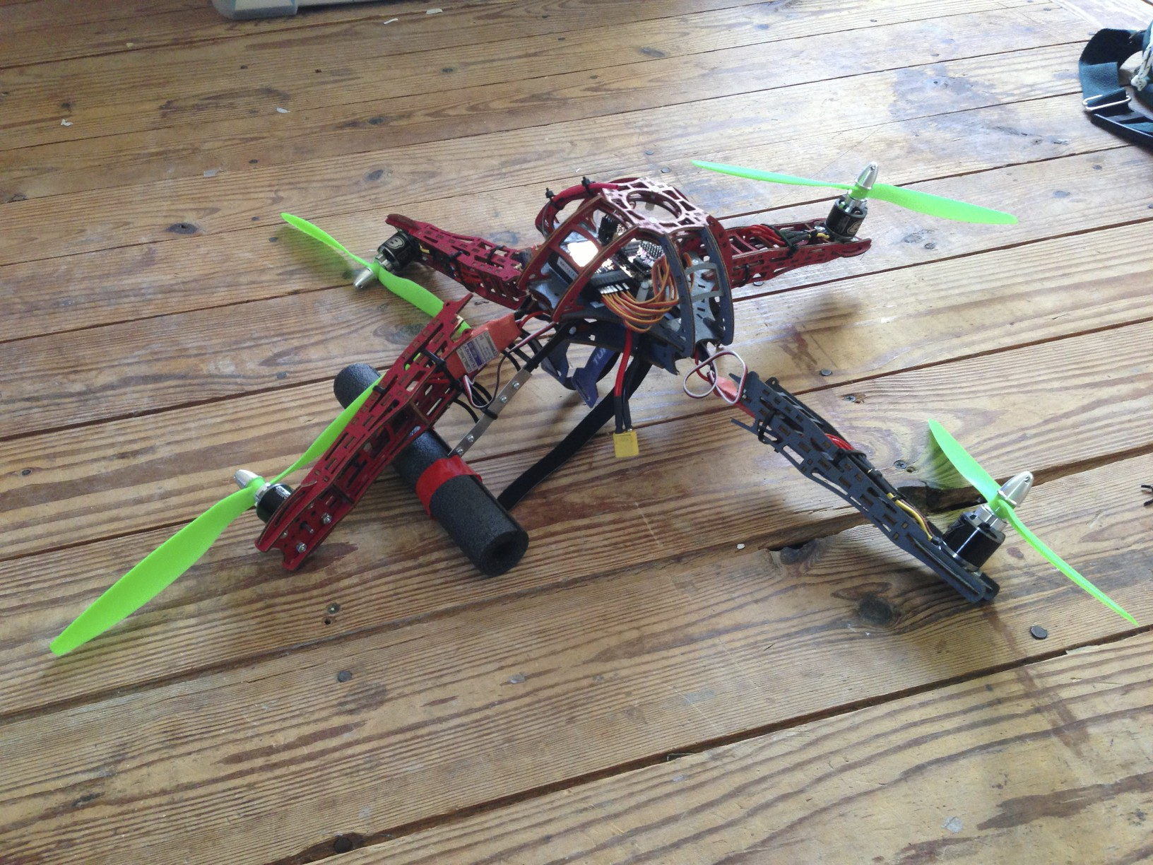 quad v1 crash