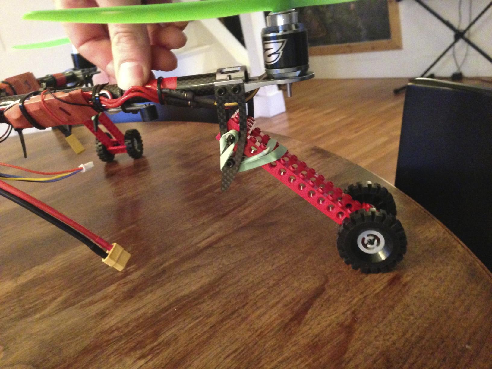 quad v2 landing gear