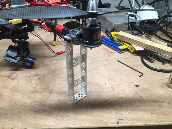 Weekend Project: New Quadcopter Landing Gear